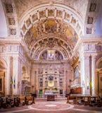 San Biagio kyrka i Montepulciano, Italien royaltyfri bild