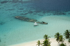 San Blas archipelago Royalty Free Stock Photo