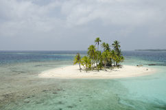 San Blas archipelago Royalty Free Stock Photos
