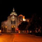San Blas Cathedral. Night shot of San Blas Cathedral located in Cuenca, Ecuador Stock Photography