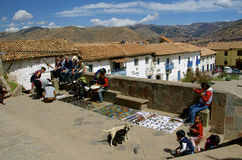 SAN Blas, Cusco, Περού Στοκ φωτογραφία με δικαίωμα ελεύθερης χρήσης