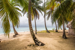 San Blas Island. Kuna Yala living in San Blas Islands Royalty Free Stock Photography