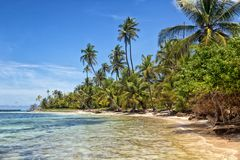 San Blas Island Masargandup Stockfotos