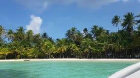 San Blas Island, Panama . Central America stock footage