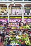 San Blas Market in Logroño. Spain. Royalty Free Stock Photos
