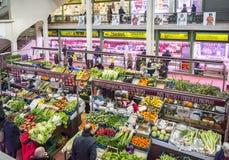 San Blas Market in Logroño. Spain. Stock Photography