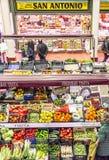San Blas Market in Logroño. Spain. Royalty Free Stock Image