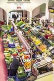 San Blas Market in Logroño. Spain. Stock Photos