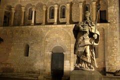 San Bonifacio alla cattedrale di Mainz immagini stock libere da diritti