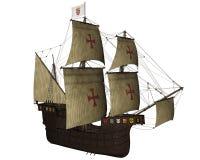 San Buenaventura ship - 3D render Stock Photos