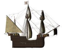 San Buenaventura ship - 3D render Stock Images