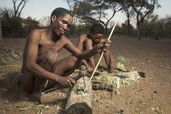 San bush people royalty free stock photography