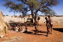 San bushmen Stock Images
