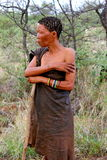 San Bushmen tribe Stock Photo