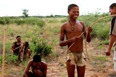 San Bushmen tribe Stock Image