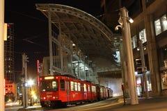 San céntrico Diego Trolley Station foto de archivo libre de regalías