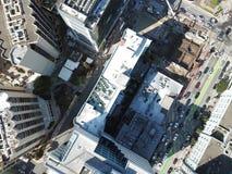 San céntrico Francisco Iconic View imagen de archivo libre de regalías