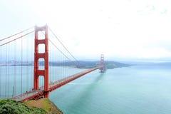 строб золотистый san california francisco моста Стоковое фото RF