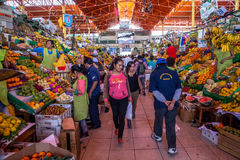 San Camillo Market in Arequipa Royalty Free Stock Images