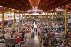 SAN CAMILO TRADITIONEEL OUD MARKET PLACE IN AREQUIPA, PERU royalty-vrije stock afbeeldingen