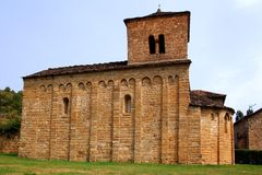 San Caprasio Church santa Cruz Seros Huesca Royalty Free Stock Photo