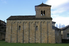 San Caprasio in Santa Cruz de la Seros (Huesca) Royalty Free Stock Image