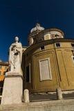 San Carlo al Corso Basilica en Roma Foto de archivo