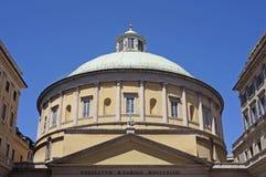 San Carlo al Corso church, Milan stock images