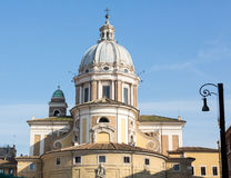 San Carlo al Corso church Rome Stock Photos