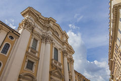 San Carlo al Corso church in Rome Stock Photo