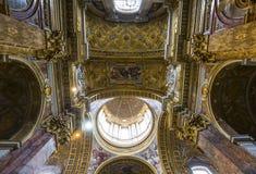 San Carlo al Corso church, Rome, Italy Stock Image