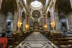 San Carlo al Corso church, Rome, Italy Royalty Free Stock Images