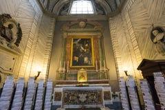 San Carlo al Corso church, Rome, Italy Stock Images