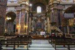 San Carlo al Corso church, Rome, Italy Royalty Free Stock Photos