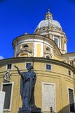 San Carlo al Corso church in Rome, Italy. Royalty Free Stock Image