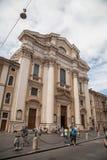 San Carlo al Corso, Rome Stock Photography