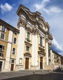 San Carlo al Corso. Rome. Italy. Stock Images