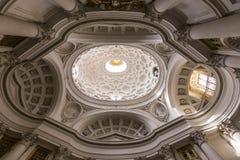 San Carlo alle Quattro Fontane church, Rome, Italy Royalty Free Stock Photography