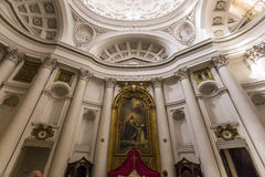 San Carlo alle Quattro Fontane church, Rome, Italy Royalty Free Stock Images