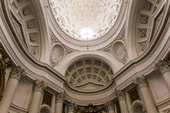 San Carlo alle Quattro Fontane church, Rome, Italy Stock Photo