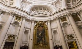 San Carlo alle Quattro Fontane church, Rome, Italy Royalty Free Stock Photos