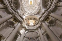 San Carlo alle Quattro Fontane church, Rome, Italy Stock Photos
