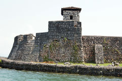 San Carlos. Old castle San Carlos near Rio Dulche on the river, Guatemala Royalty Free Stock Photos