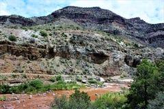 San Carlos Apache Indiańska rezerwacja, Gila okręg administracyjny, Arizona, Stany Zjednoczone Zdjęcie Stock