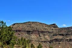 San Carlos Apache Indian Reservation, Gila County, Arizona, Estados Unidos imagen de archivo