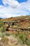 San Carlos Apache Indian Reservation, Gila County, Arizona, Etats-Unis Images libres de droits