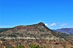 San Carlos Apache Indian Reservation, Gila County, Arizona, Etats-Unis images stock
