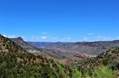 San Carlos Apache Indian Reservation, Gila County, Arizona, Etats-Unis photographie stock