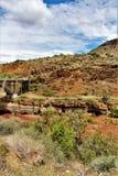 San Carlos Apache Indian Reservation, Gila County, Arizona, Förenta staterna Arkivbilder