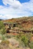 San Carlos Apache Indian Reservation, Gila County, Arizona, Förenta staterna Royaltyfria Bilder